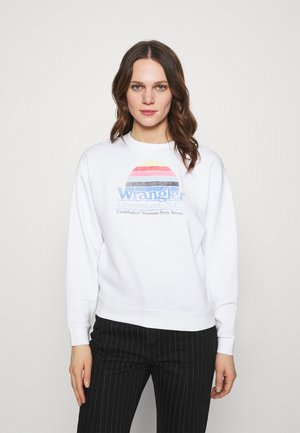 HIGH RETRO - Sweatshirt - real white