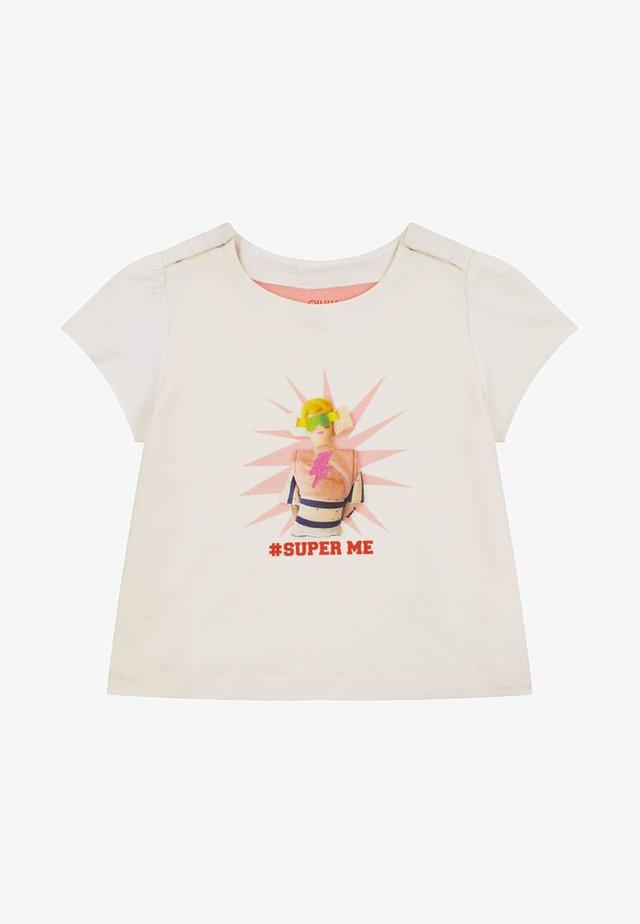 MET URBAN FOLKLORE PRINT - T-shirt print - white