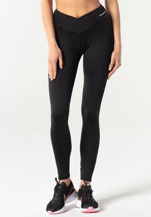 BUBBLE® PUSH-UP - Leggings - black