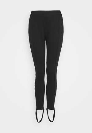 70S PANT - Leggings - white/black