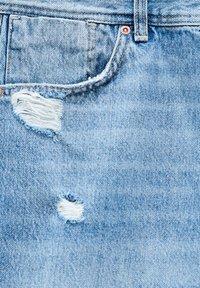 PULL&BEAR - Denim shorts - dark-blue denim - 7