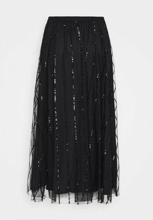 PREMESSA - Áčková sukně - black
