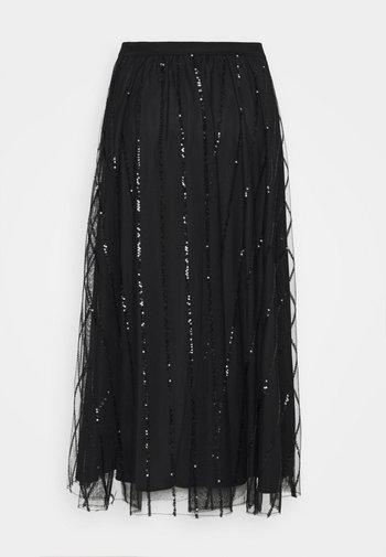 PREMESSA - Jupe trapèze - black