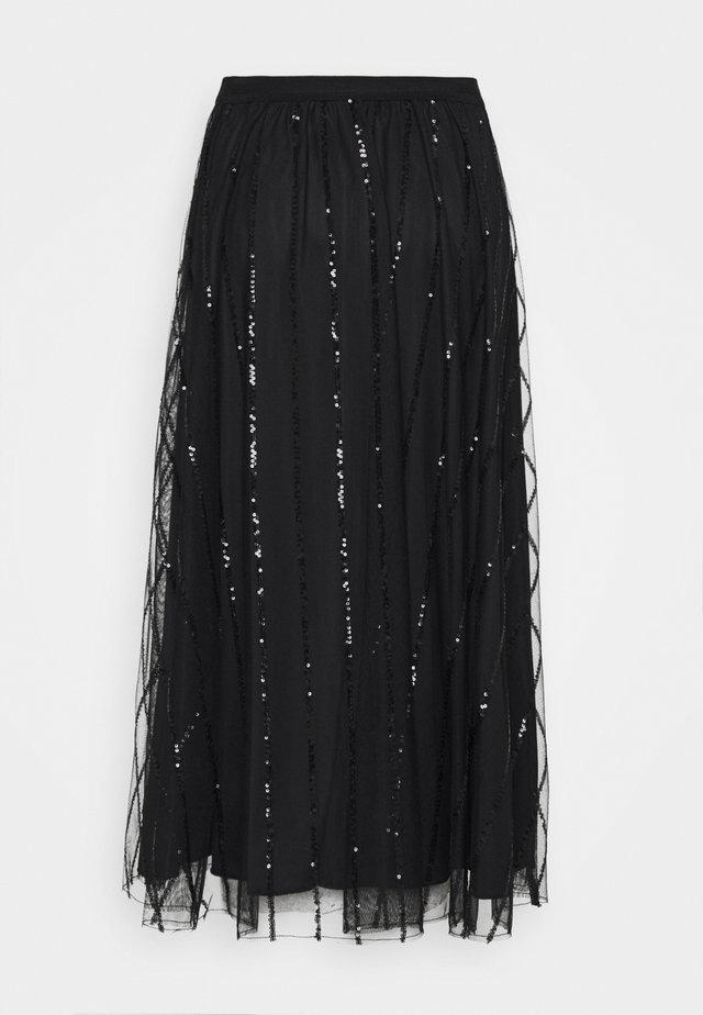 PREMESSA - A-line skirt - black