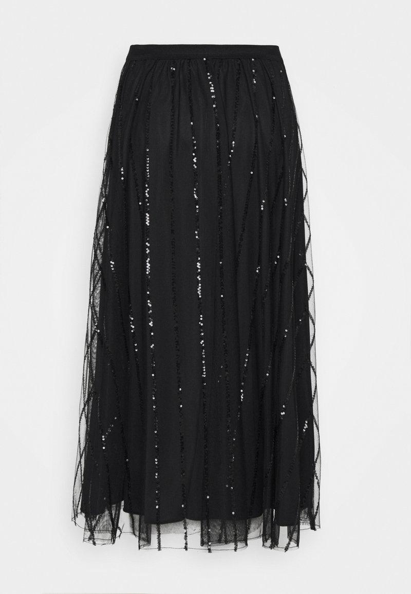 MAX&Co. - PREMESSA - Áčková sukně - black