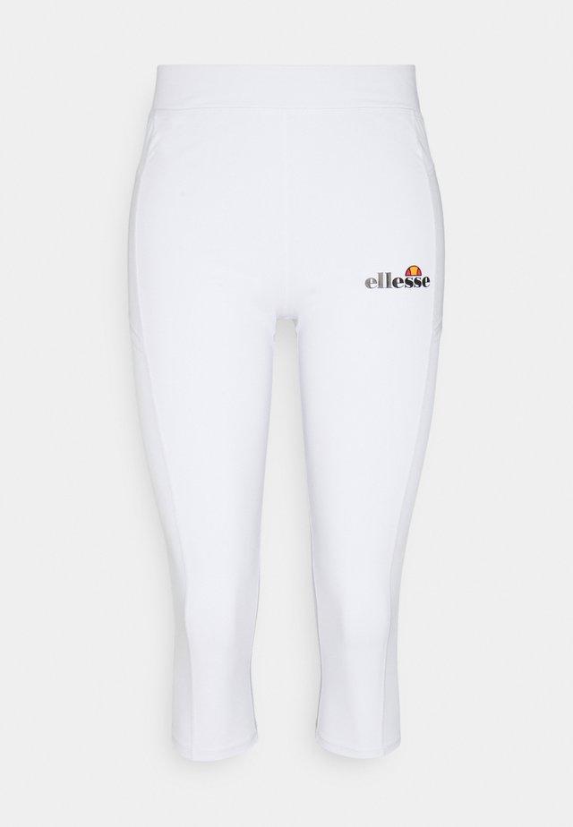 RIPA CAPRI - Legging - white