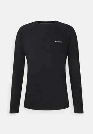 MIDWEIGHT LONG SLEEVE - Langarmshirt - black