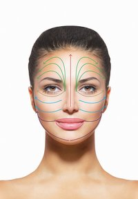 Haute Custom Beauty - PRECIOUS CONTOURING FACIAL MASSAGER - Skincare tool - green agatha - 1