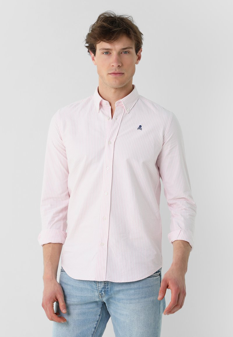Scalpers - Shirt - pink stripes