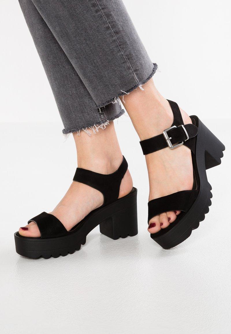 Coolway - LANA - Platform sandals - black