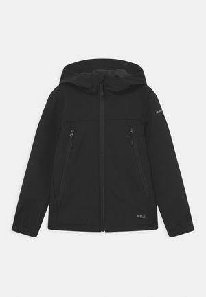 KONAN JR - Soft shell jacket - black