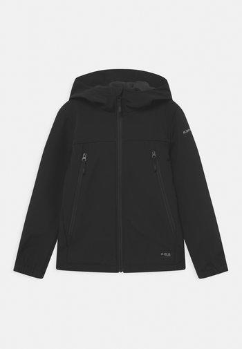 KONAN JR - Softshellová bunda - black