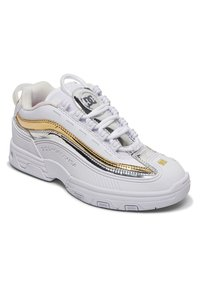 DC Shoes - LEGACY OG - Trainers - white/gold - 2