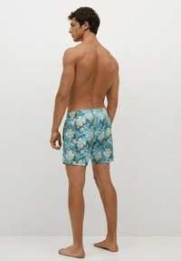 Mango - MIT HAWAII - Swimming shorts - blau - 2