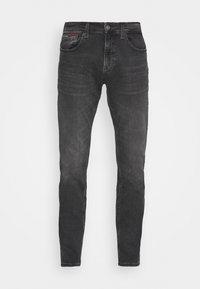 Tommy Jeans - SCANTON SLIM - Jeans slim fit - erno black - 3
