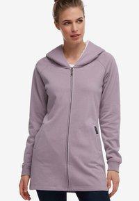 DreiMaster - Zip-up hoodie - light pink - 0