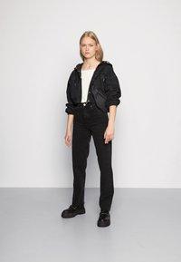 BDG Urban Outfitters - PAX - Džíny Straight Fit - black - 1