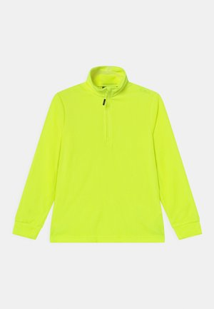 UNISEX - Fleece trui - yellow fluo