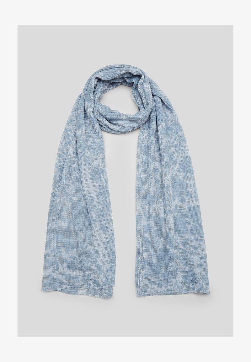 s.Oliver - Scarf - light blue aop