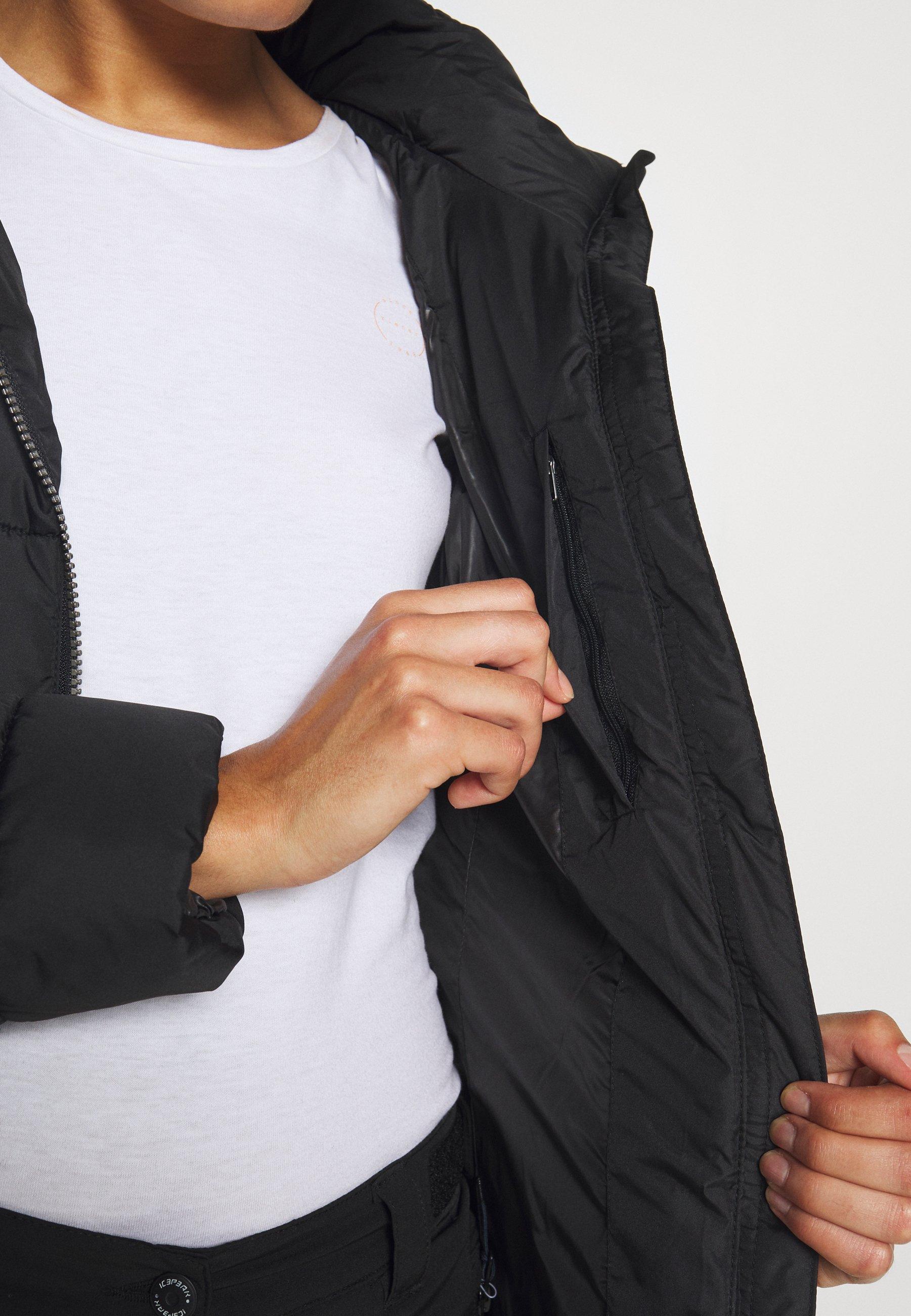 Icepeak ADDISON - Down coat - black G1gn1