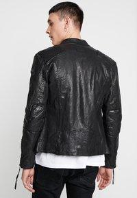 Tigha - NERO - Leather jacket - black - 2