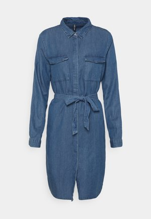 PCNISSA MIX DRESS CAMP - Paitamekko - dark blue denim