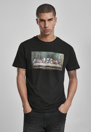 CAN´T HANG WITH US  - T-shirt imprimé - black