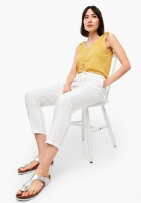 s.Oliver - Trousers - offwhite - 4