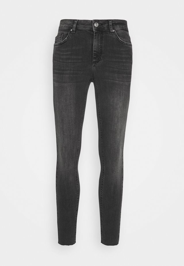 PCDELLY  - Jeans Skinny Fit - dark grey denim