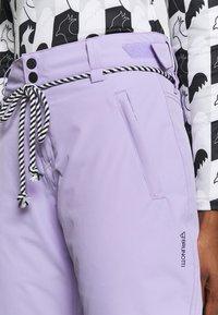 Brunotti - SUNLEAF WOMEN SNOWPANTS - Snow pants - lavender - 5