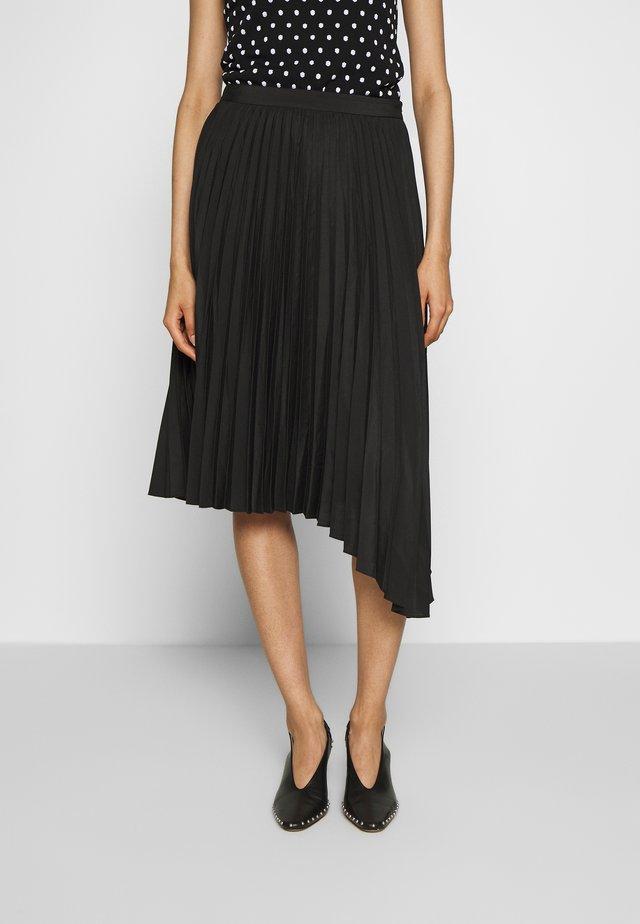 ZSAZSA - Áčková sukně - black