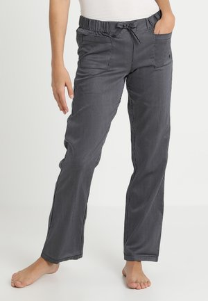 PANTS - Pyjamahousut/-shortsit - blauschwarz