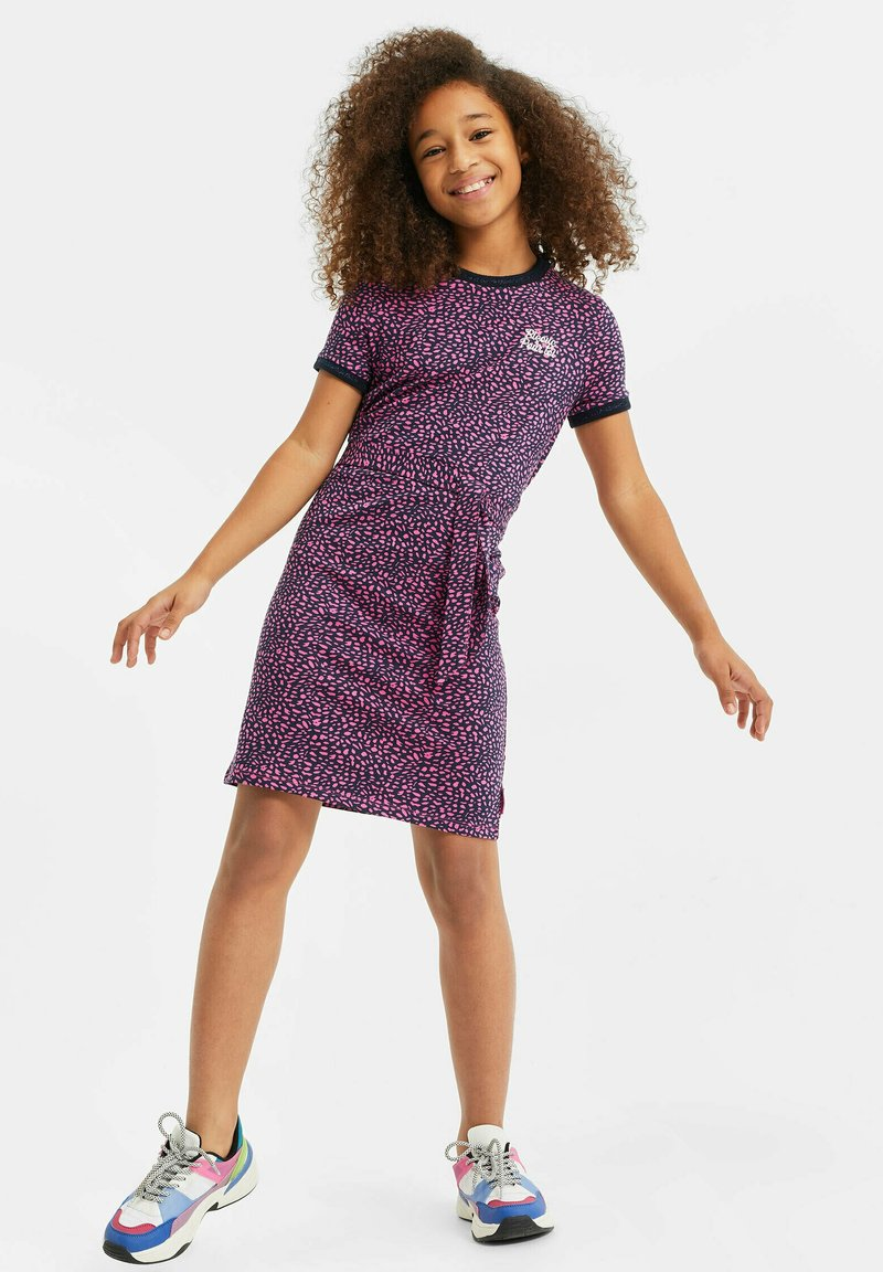 WE Fashion - Korte jurk - all-over print