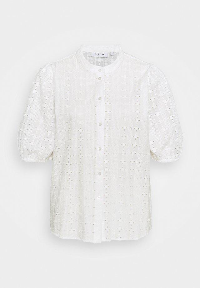 BARBINE SHIRT - Skjortebluser - white