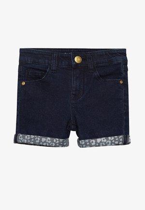 Denim shorts - dark indigo denim