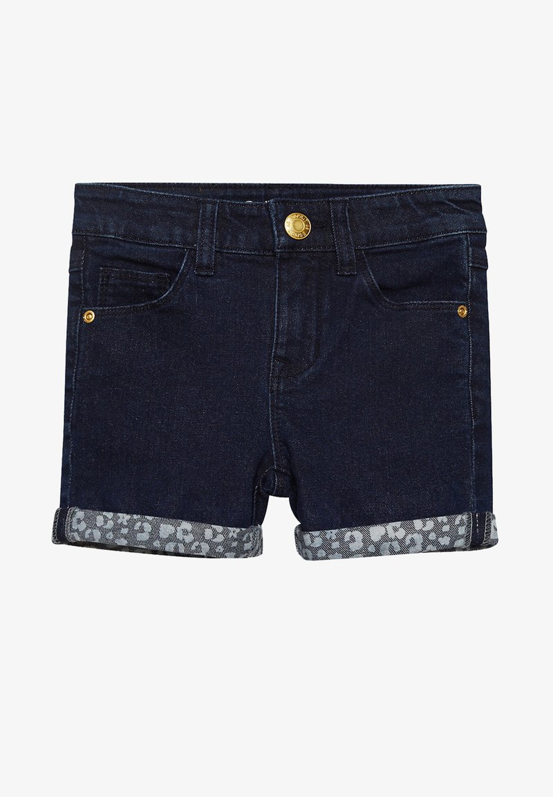 Esprit - Denim shorts - dark indigo denim
