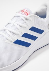 adidas Performance - RUNFALCON - Neutral running shoes - footwear white/royal/active red - 5