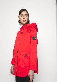 Calvin Klein - MID THIGH - Parka - orange odyssey - 3