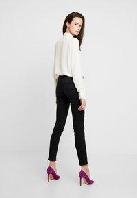 Lee - SCARLETT - Jeans Skinny Fit - black used york - 2