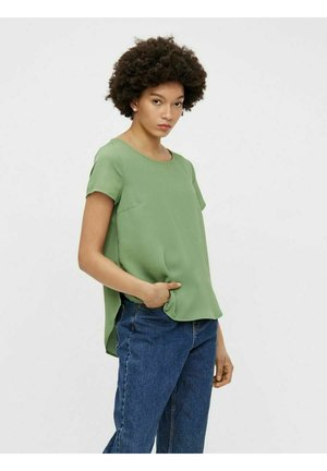 PCMILLA TOP - Blouse - hedge green