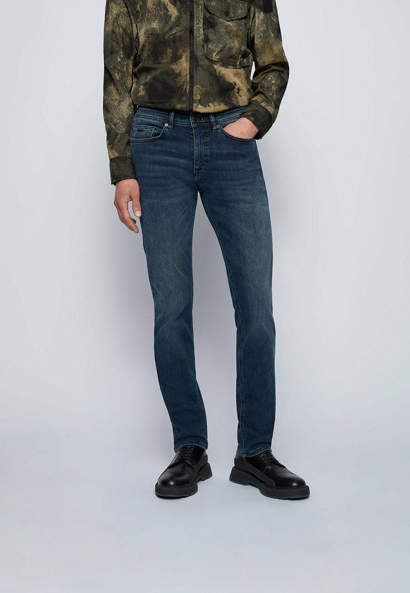 BOSS - DELAWARE BC-L-P - Straight leg jeans - dark blue
