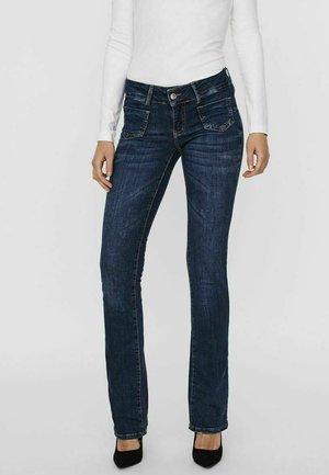 Bootcut jeans - dark blue denim