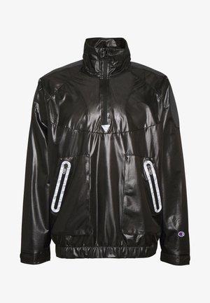 HALF ZIP - Leichte Jacke - black