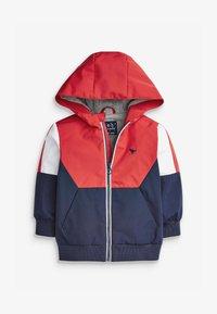 Next - COLOURBLOCK - Light jacket - red - 1