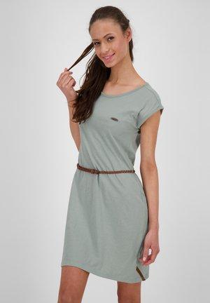 Jersey dress - slategray