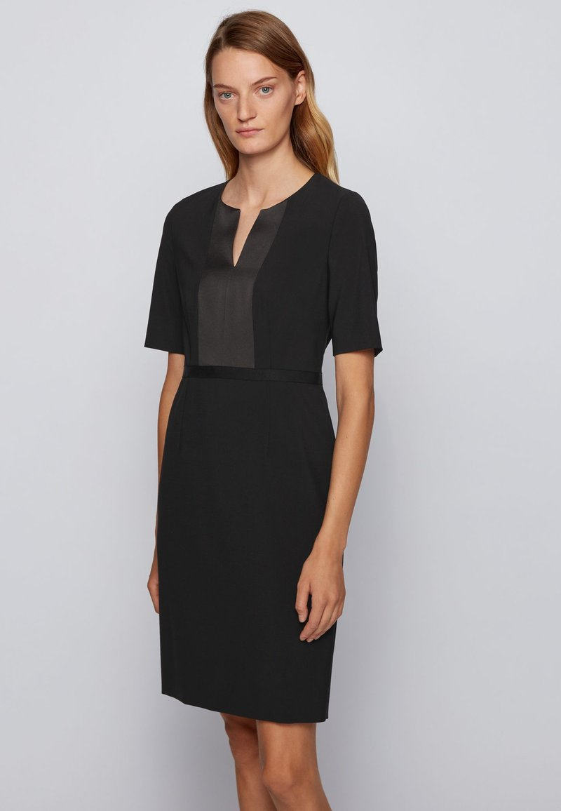 BOSS - Shift dress - black