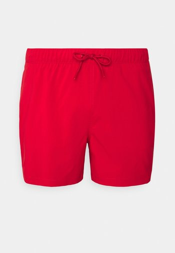 PULL ON SOLID - Swimming shorts - red