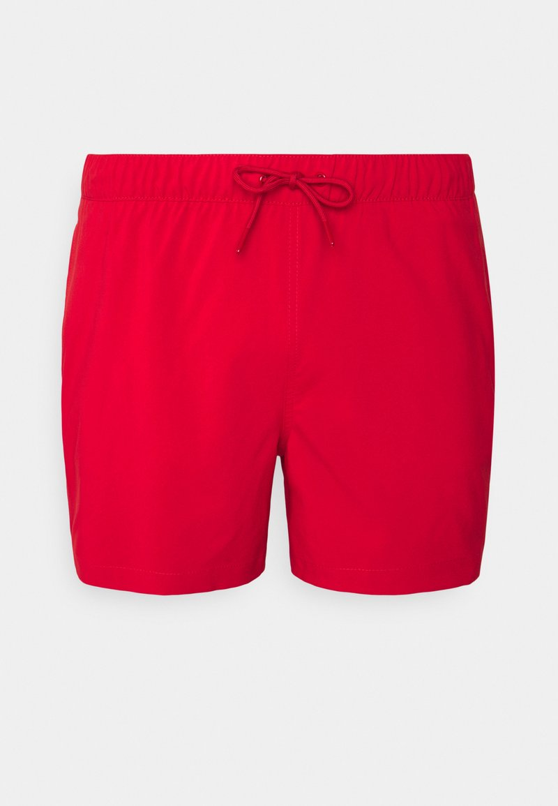 Abercrombie & Fitch - PULL ON SOLID - Plavky - red