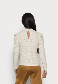 ONLY Petite - ONLROSALINE HIGHNECK PUFF - Blouse - pumice stone - 2