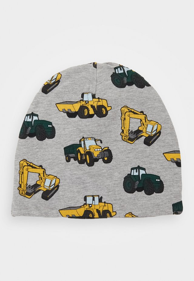 TRICOT YELLOW WORK WHEICALS - Bonnet - grey melange
